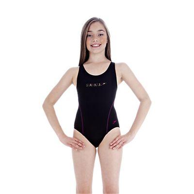 Speedo Spiralize 2 Splashback Girls Swimsuit