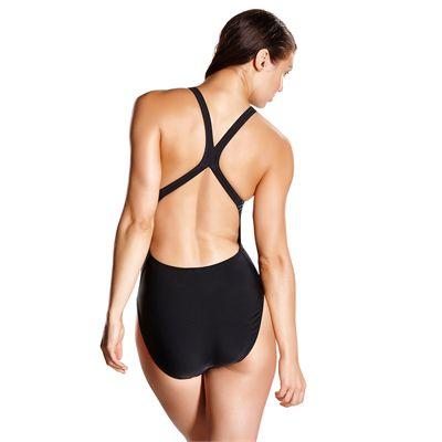 Speedo Start Shift Placement Powerback Ladies Swimsuit - Back