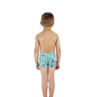 Speedo Swirlcomet Allover Infant Boys Aquashorts Back