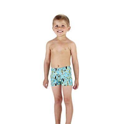 Speedo Swirlcomet Allover Infant Boys Aquashorts Side