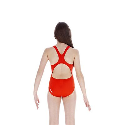 Speedo TideBreak Logo Splice Splashback Girls Swimsuit back