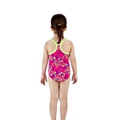 Speedo Titch 1 Piece Infant Girls Swimsuit Back