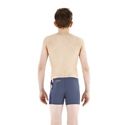 Speedo TurboForce Placement Panel Boys Aquashort back