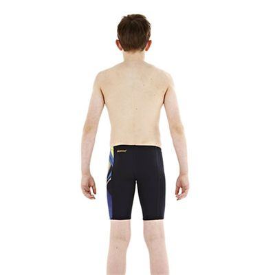 Speedo TurboForce Placement Panel Boys Jammer back