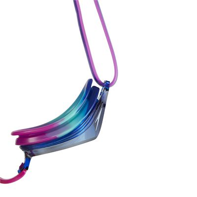 Speedo Vengeance Mirror Junior Swimming Goggles - Purple - Above