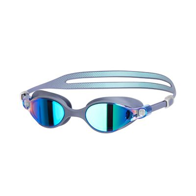 Speedo Virtue Mirror Ladies Swimming Goggles - Grey/Green
