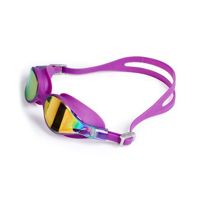 Speedo Virtue Mirror Ladies Swimming Goggles Purple/Pink