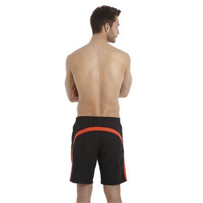 Speedo Wavebeat 18 Inch Mens Watershort black orange 2