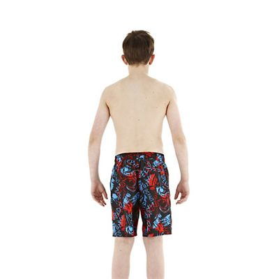 Speedo WaveSplash Printed 17 Watershort Back