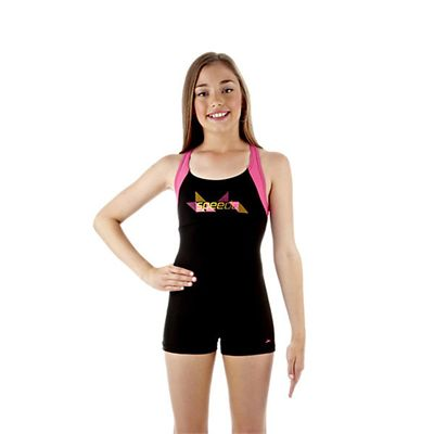 Speedo Wavespray Girls Legsuit