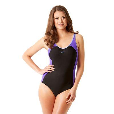 Speedo Winner Clipback Ladies Swimsuit - Front