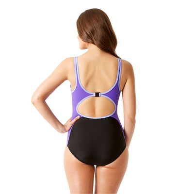 Speedo Winner Clipback Ladies Swimsuit - Back