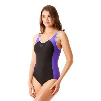 Speedo Winner Clipback Ladies Swimsuit - Side