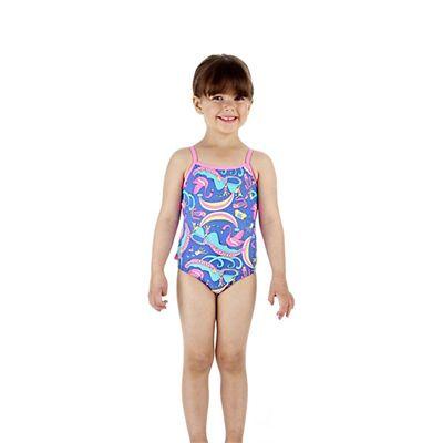 Speedo Wonderland Frill 1 Piece Infant Girls Swimsuit