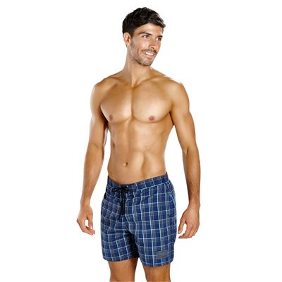 Speedo YD Check Leisure 16 Inch Mens Watershorts - Front