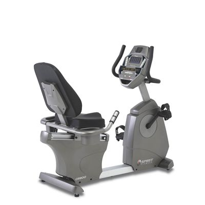 Spirit CR800 Club Series Recumbent Cycle
