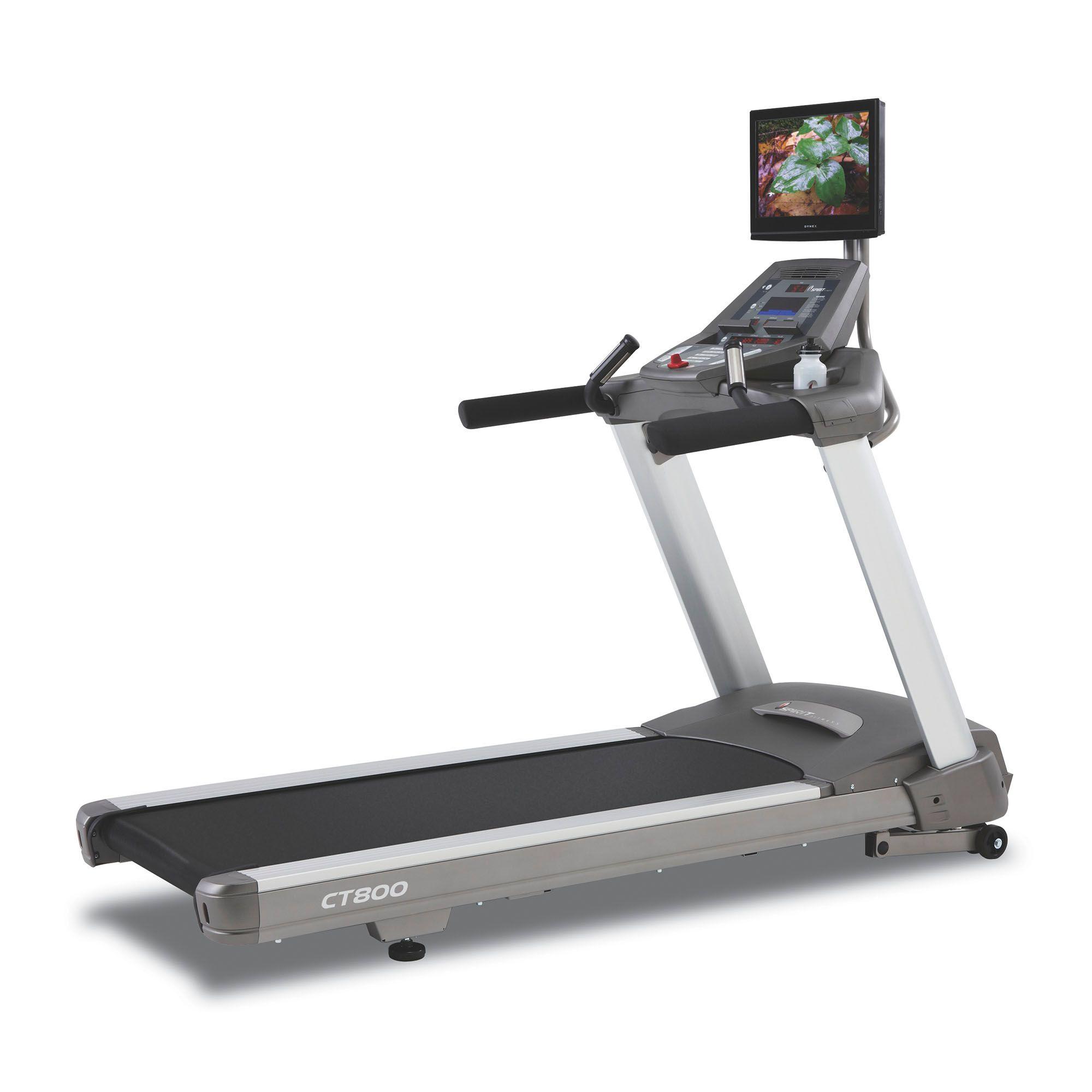 Cybex Treadmill Heart Rate Monitor: Spirit CT800 Treadmill With Medical Handrails