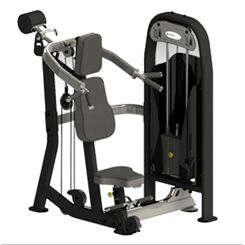 Spirit Shoulder Press and Low Pulley