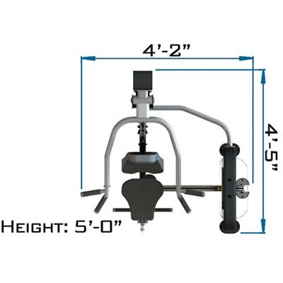 Spirit Shoulder Press and Low Pulley Specs