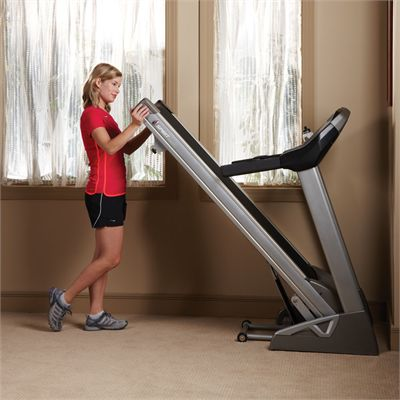 Spirit Fitness XT285 Treadmill - folding ability