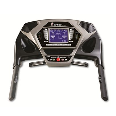 Spirit Fitness XT485 Treadmill - top view