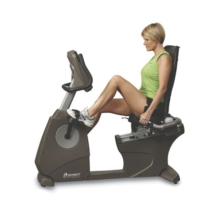 Spirit XBR55 Recumbent Bike - view