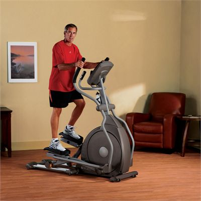 Spirit XE195 Elliptical Cross Trainer - in use