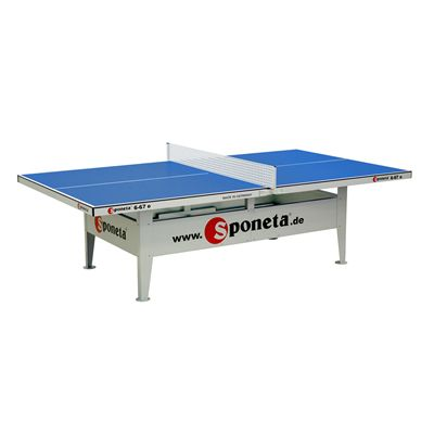 Sponeta Activeline Outdoor Table Tennis Table-Blue Colour