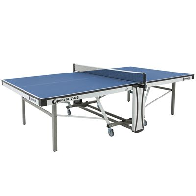 Sponeta Auto Compact ITTF Table Tennis Table-Blue