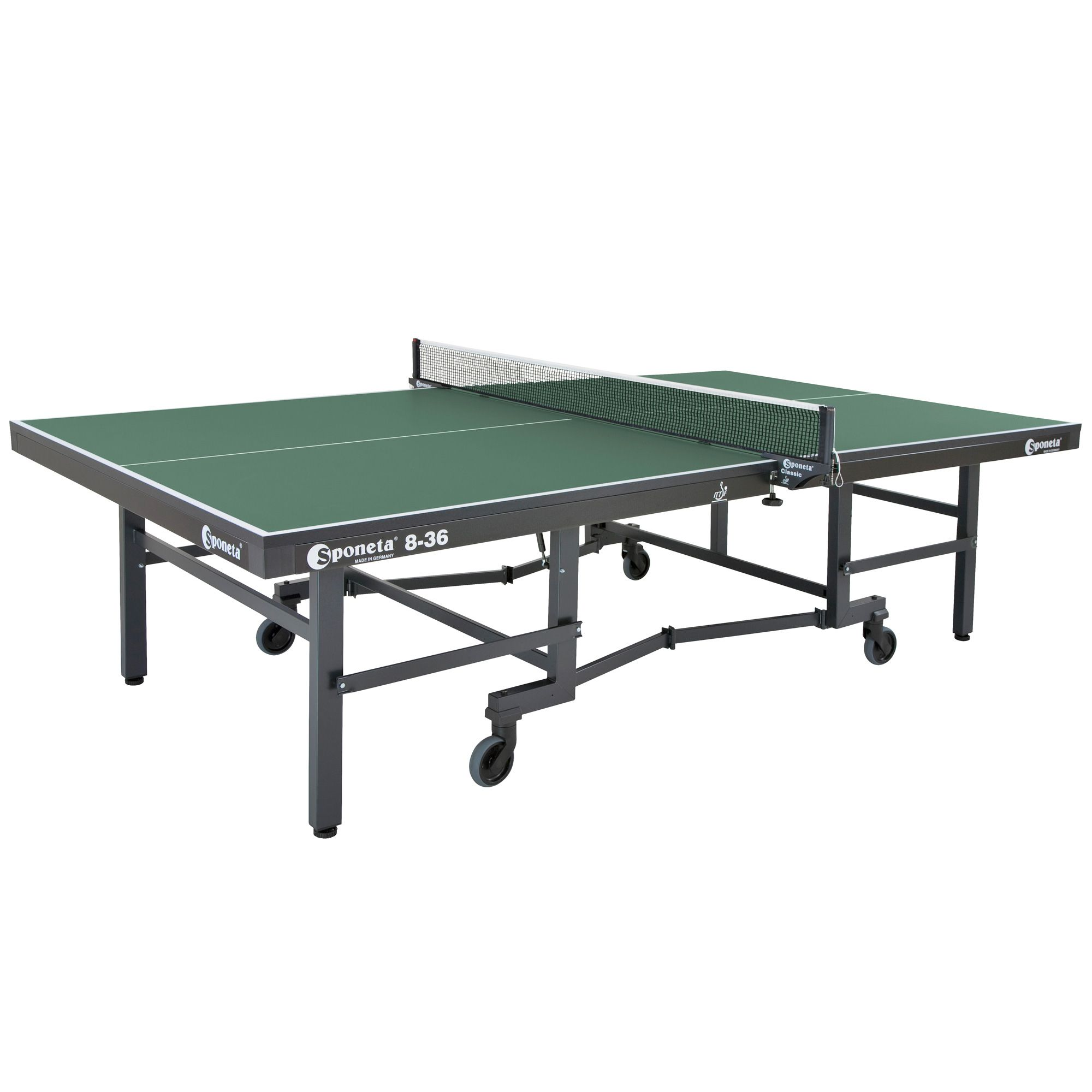 Sponeta championline ittf indoor table tennis table for Table tennis
