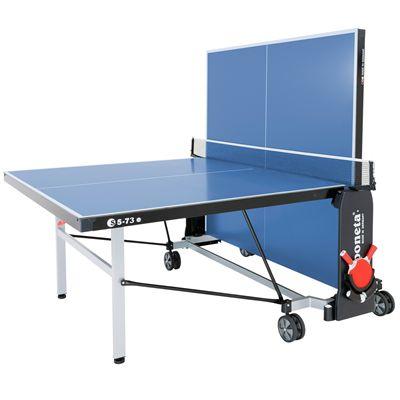 Sponeta De-luxe Outdoor Table Tennis Table-6mm-Blue-Playback