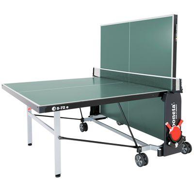 Sponeta De-luxe Outdoor Table Tennis Table-6mm-Green-Playback