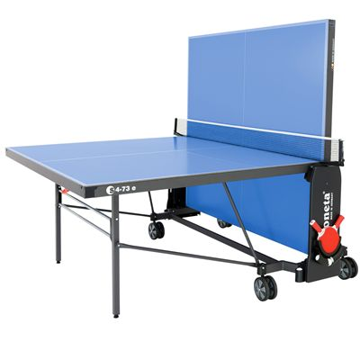 Sponeta Expert Outdoor Table Tennis Table-5mm-Blue-Playback