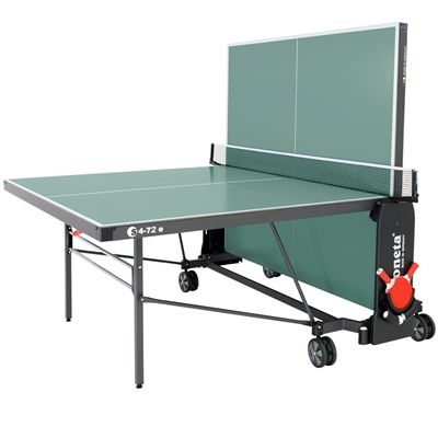 Sponeta Expert Outdoor Table Tennis Table-5mm-Green-Playback