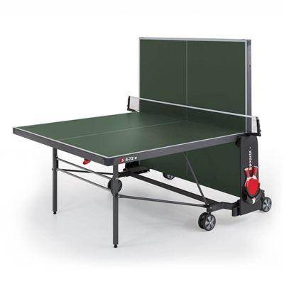 Sponeta Expert Outdoor Table Tennis Table - Green - Playback