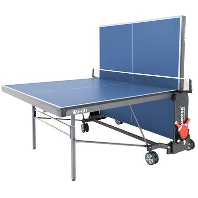 Sponeta Expert Line Table Tennis Table-19mm-Blue-Playback