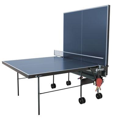 Sponeta Hobby Club Indoor Table Tennis Table - Blue - Playback