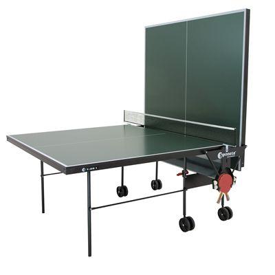 Sponeta Hobby Club Indoor Table Tennis Table - Green/Playback