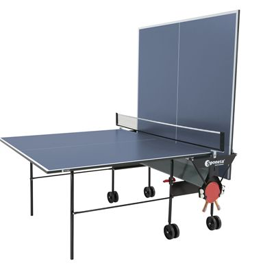 Sponeta Hobby Playback Indoor Table Tennis Table - Folded