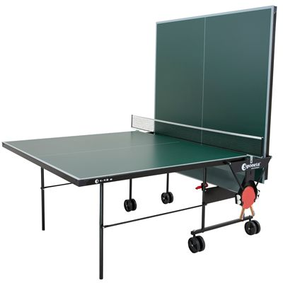 Sponeta Hobbyline Outdoor Table Tennis Table-4mm-Green-Playback