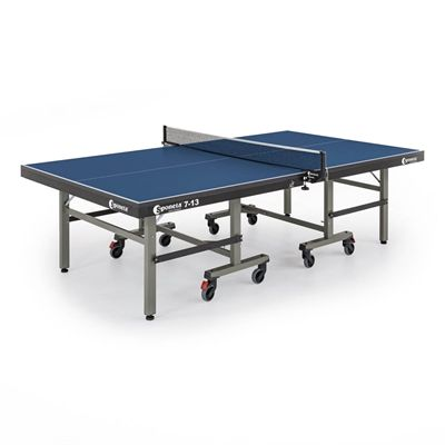 Sponeta Master Compact ITTF Indoor Table Tennis Table - Blue