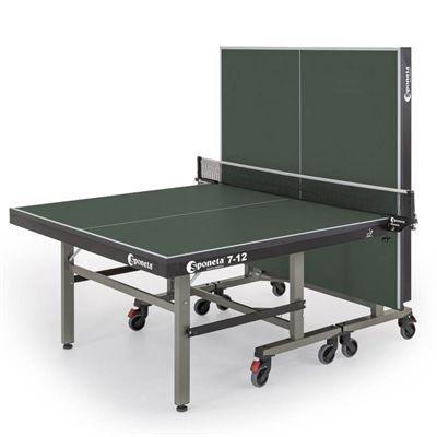 Sponeta Master Compact ITTF Indoor Table Tennis Table - Green - Playback