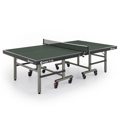 Sponeta Master Compact ITTF Indoor Table Tennis Table - Green