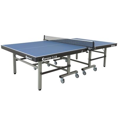 Sponeta Master Compact ITTF Table Tennis Table-Blue