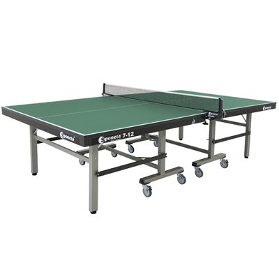 Sponeta Master Compact ITTF Table Tennis Table-Green