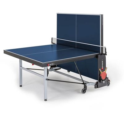 Sponeta Schooline Indoor Table Tennis Table - Blue - Playback