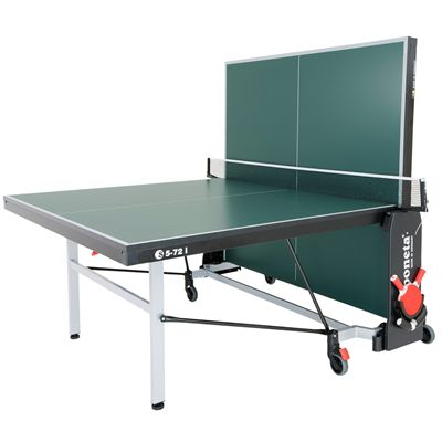 Sponeta Schooline Table Tennis Table-22mm-Green-Playback