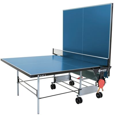 Sponeta Sportline Outdoor Table Tennis Table-5mm-Blue-Playback