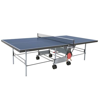 Sponeta Sportline Rollaway Indoor Table Tennis Table - Blue