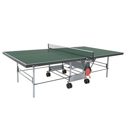 Sponeta Sportline Rollaway Indoor Table Tennis Table - Green